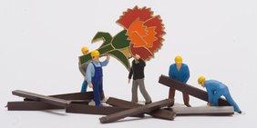 Mainelke Arbeiter