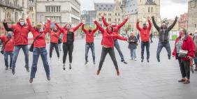Flashmob Halle